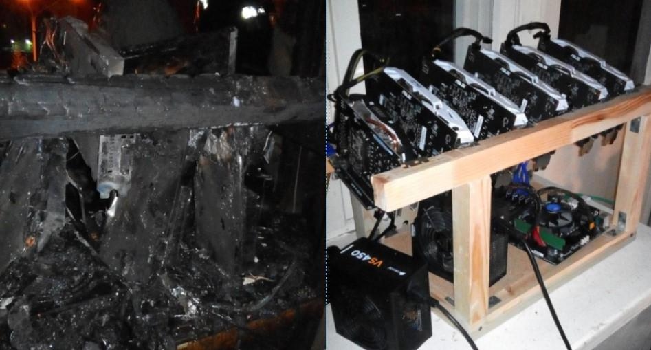 Майнинговая ферма сгорела вквартире вмногоэтажке Северска