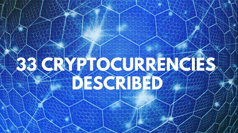 33 Cryptocurrencies Described In Four Words Or Less [INFOGRAPHIC]