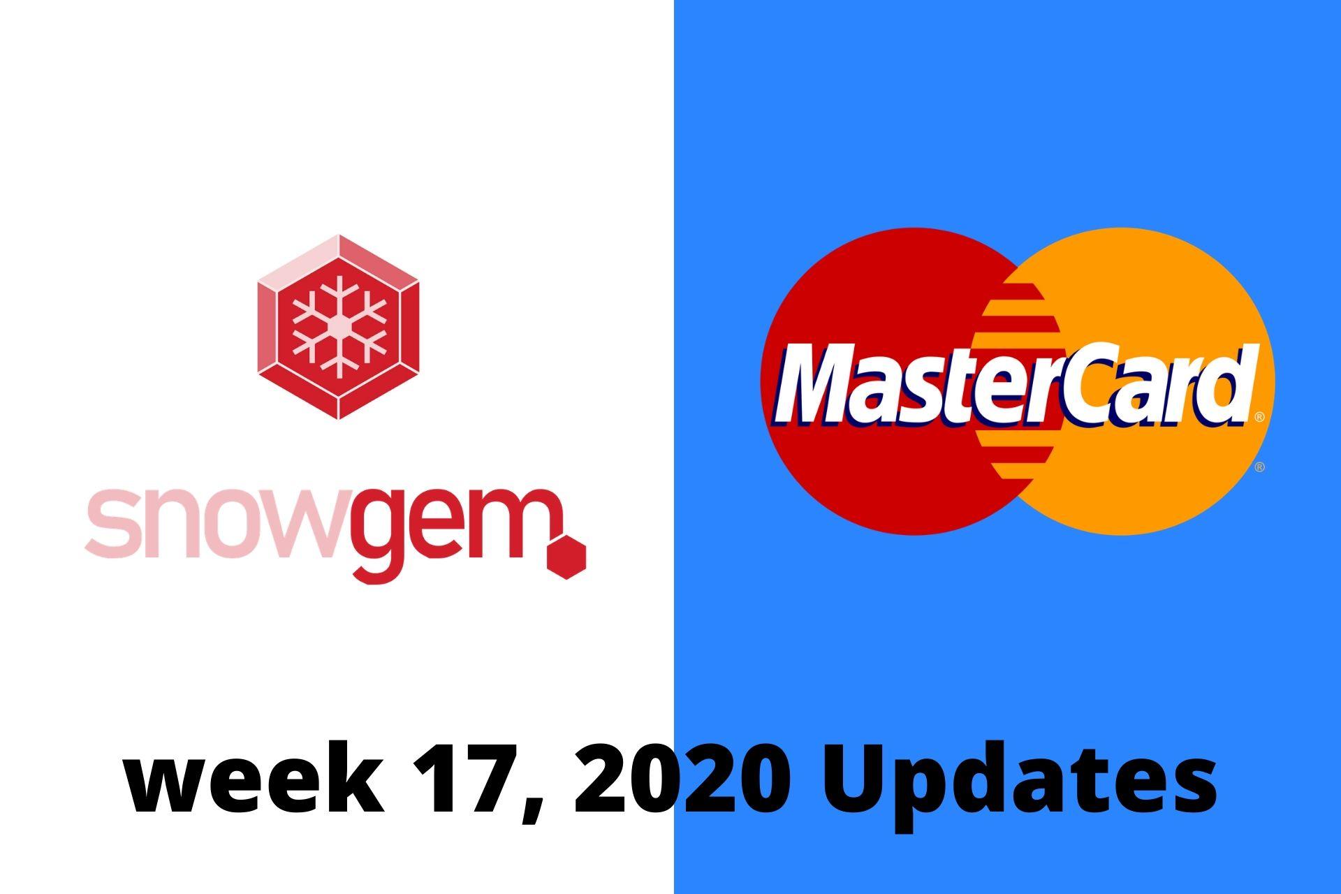 SnowGem Weekly Update: 17w/2020
