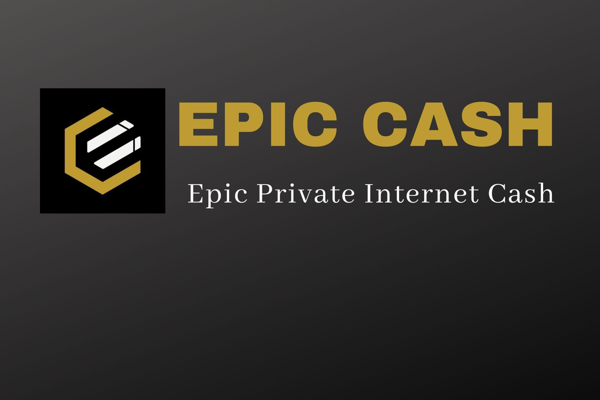 All About Epic Cash