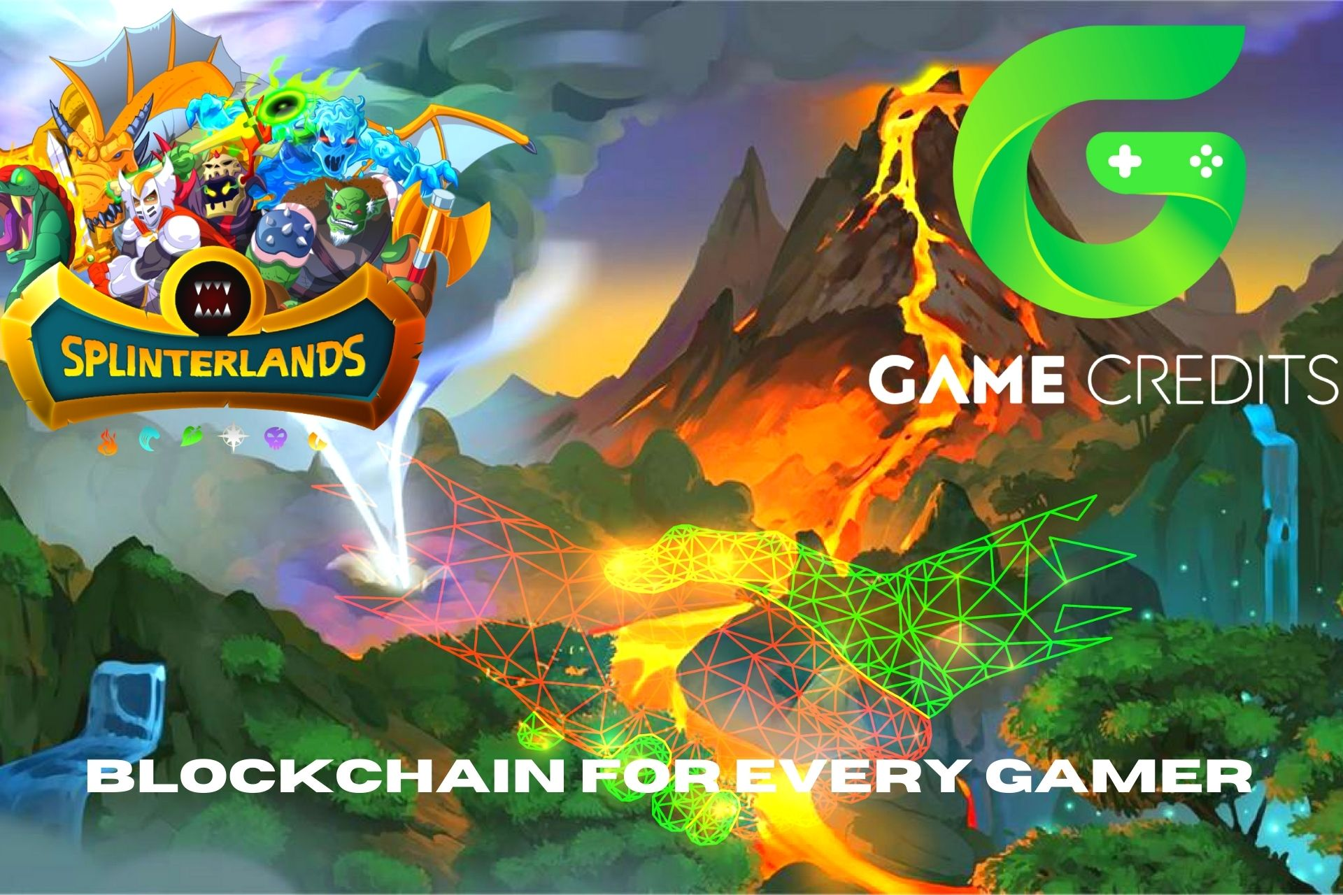 Crypto Online Games: Game Credits And Splinterlands Partnership