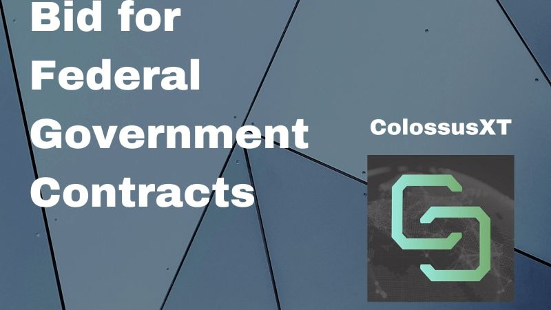 ColossusXT Gears up to Bid for Federal Government Contracts