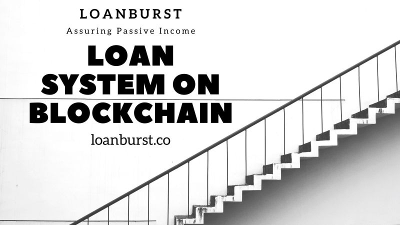 LoanBurst: A Deflationary Loan System Assuring Passive Income for Lenders