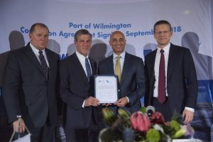 Port of Wilmington Concession Agreement Signing