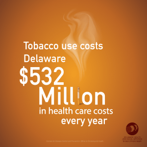 Tobacco use costs Delaware $352 million in health care costs every year