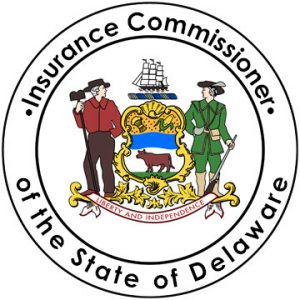 Official Seal of the Insurance Commissioner of Delaware