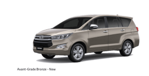 Toyota Innova Crysta Bronze Color