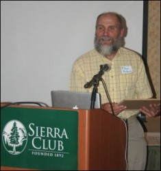 Dr. Thomas Rosburg presented with Sierra Club Iowa Chapter ...