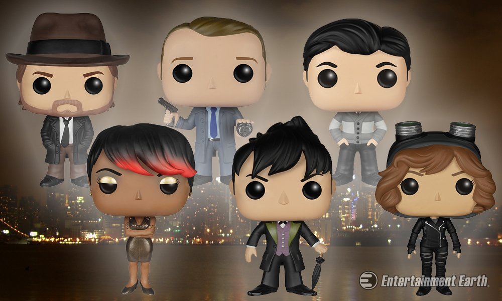 Go Back To The Start With Gotham Pop Vinyl Figures
