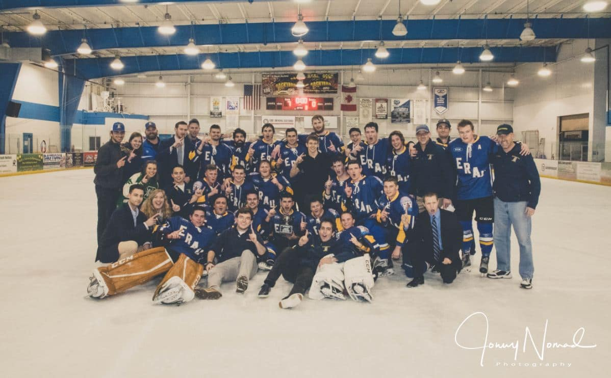 Embry Riddle Hockey Dominates Conference Championship