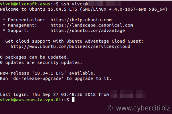 Connect using your own SSH client