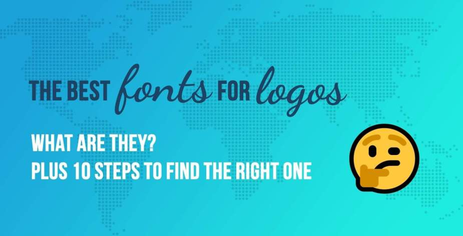 the best fonts for logos
