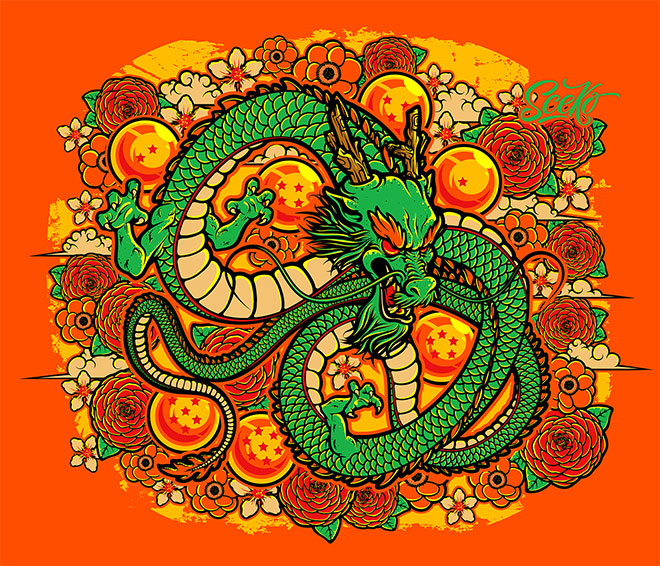 Shenlong Fan Art by Sceko Soriano C