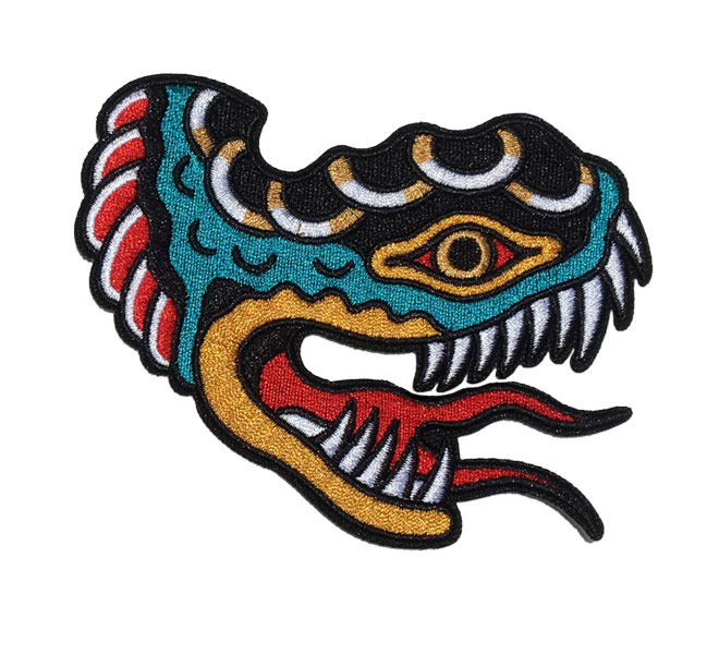 Lindauer Snake Patch by Few and Far Collective