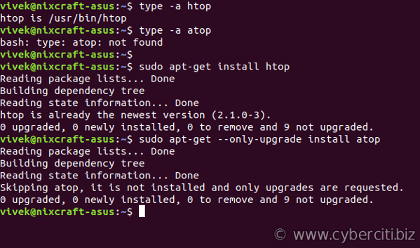 Ubuntu upgrade or update a single package using apt-get