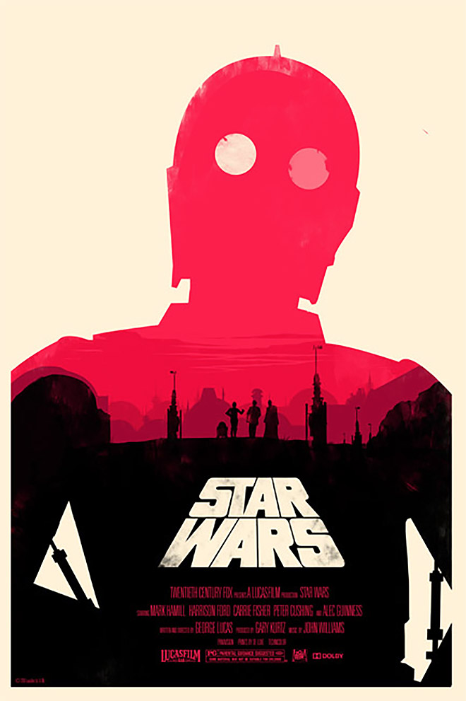 Star Wars Trilogy by Olly Moss