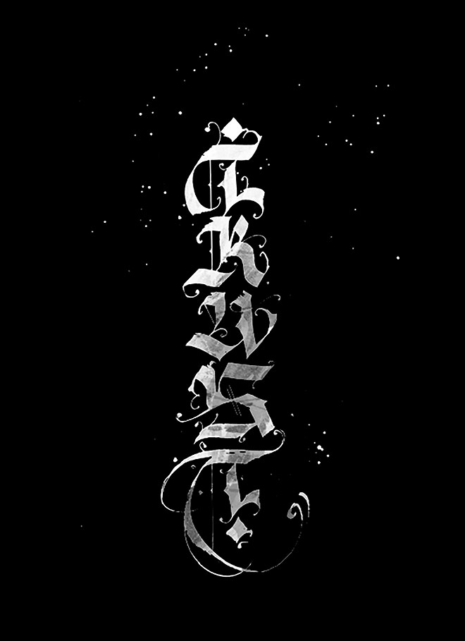 Calligraphy Collection by Pokras Lampas