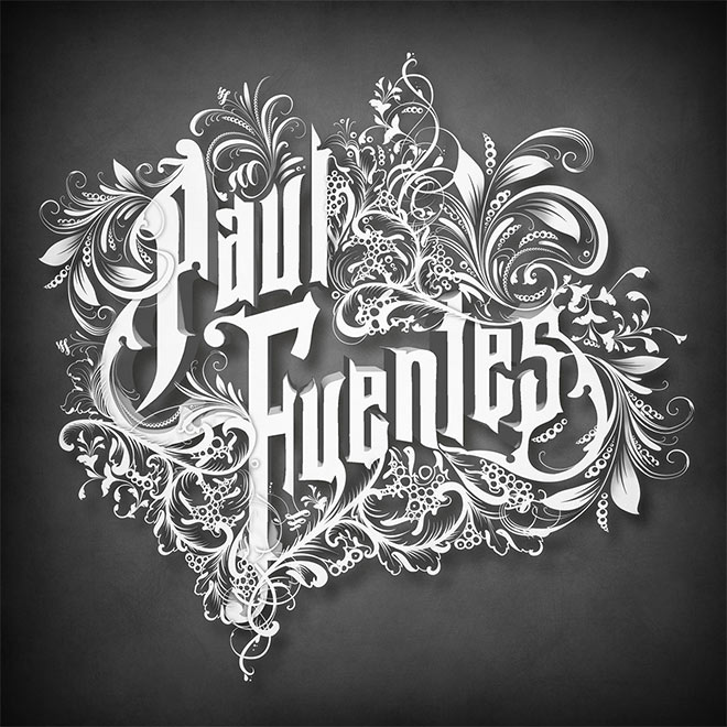 Vintage Lettering Type by Paul Fuentes