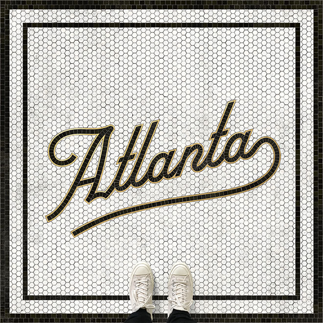 Atlanta Mosaic Type by Zachary Smith