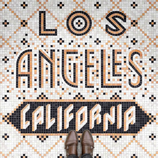 Los Angeles California by Kot Sifir