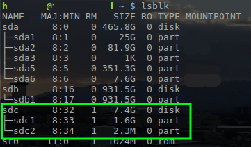 Find Disk Device Names