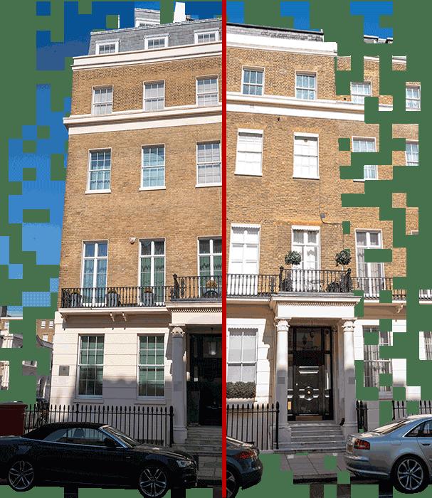 Photo of properties near Buckingham Palace