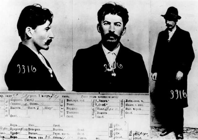 Stalin'in Petrograd polisindeki kaydı