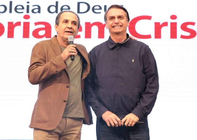 Pastor Silas Malafaia e Bolsonaro