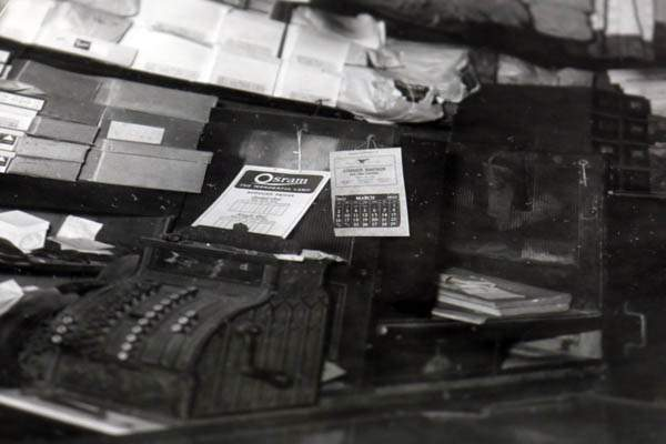 The cash register inside Volpert