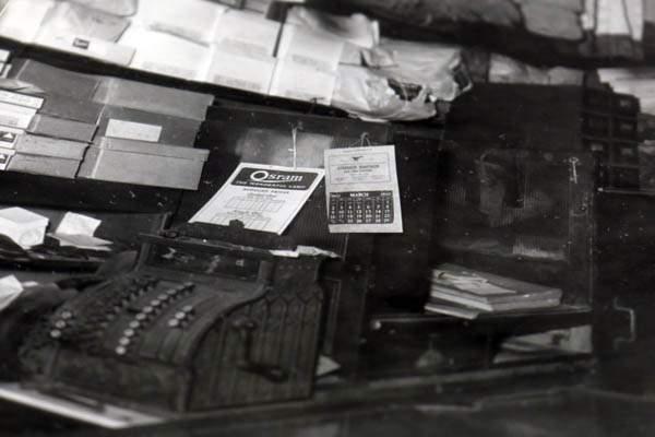 The cash register inside Volpert