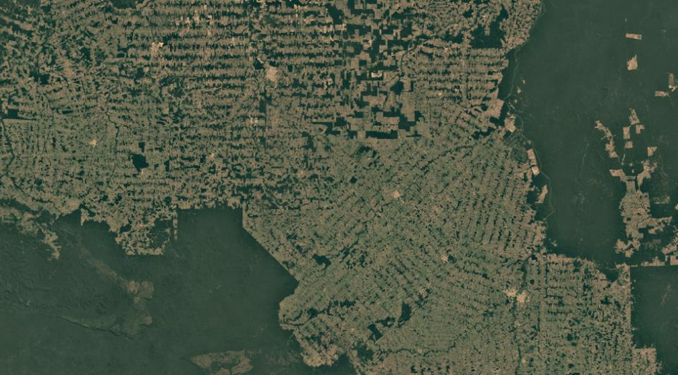Спутниковые снимки Рондонии, Бразилия, 2018