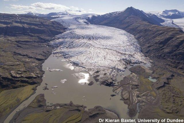 Iceland's Skálafellsjökull glacier in 2019