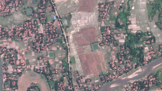 Thit Tone Nar Gwa Son village in May 2017