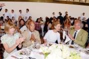 Anna Wintour, Oscar de la Renta, Carolina Herrera, and Graydon Carter