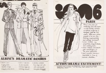 "IM International, ""European ready-to-wear collections,"" fall/winter 1975."