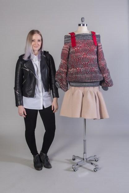 Yekaterina Burmatnova, Knitwear