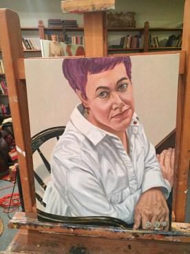 Verin's Pearlstein portrait.