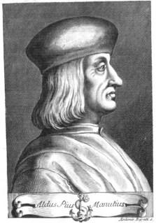 Image of Aldus Manutius