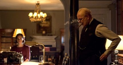 Film still from Darkest Hour