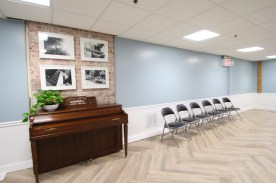 Picture of renovations done by FIT interior design students at St. Paul's House