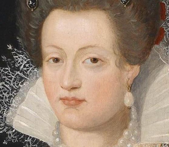 Frans Pourbus the Younger, Portrait of Maria de Medici, 1605.