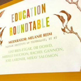 sign for Education Roundtable hosted by Melanie Reim