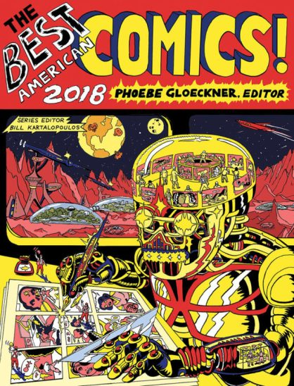 cover of The Best American Comics 2018
