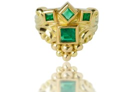 Crown of the Andes DD x The Met Emeral Ring