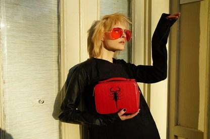 Scorpion Embroidered Crossbody bag