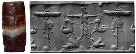 Cylinder seal from the Morgan Library.