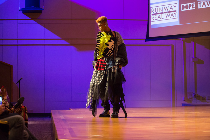The Dean's Forum on The Business of Gender Neutral Fashion was held on the campus of FIT on Thursday, March 28, 2019.