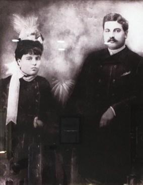 Mazza's great-great-grandparents, Ana and Bartolomeu.