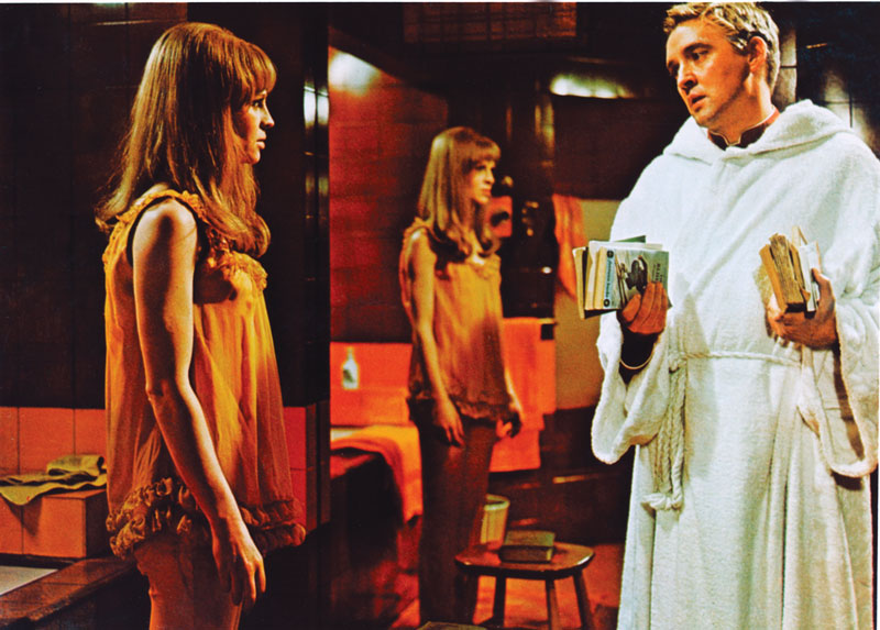 Julie Christie and Oskar Werner in Kamali's favorite movie, Farenheit 451.