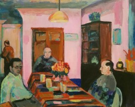 scene of people sitting at a table by Mariel Tepper